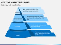 Content Marketing Funnel PPT Slide 1