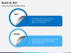 Build vs buy PPT slide 5