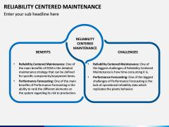 Reliability Centered Maintenance PPT Slide 8