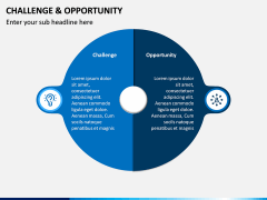 Challenge and Opportunity PPT Slide 4