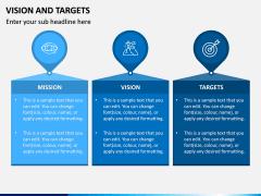 Vision and Targets PPT Slide 4