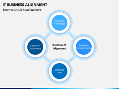 IT Business Alignment PPT Slide 1