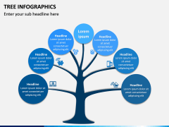 Tree Infographics PPT Slide 2