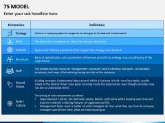 7S model PPT slide 11