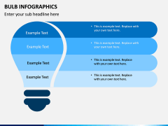 Bulb Infographics PPT Slide 7