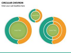Circular Chevron PPT Slide 14