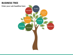 Business Tree PPT Slide 12