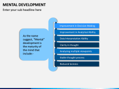 Mental Development PPT Slide 1