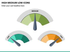 High Medium Low Icons PPT Slide 16