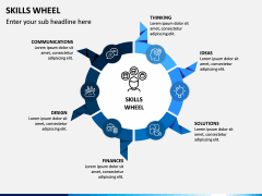 Skills Wheel PPT Slide 14