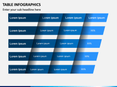 Table Infographics PPT Slide 6
