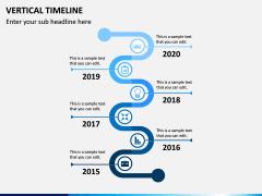 Vertical Timeline PPT Slide 6