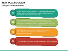 Individual Behavior PPT Slide 26