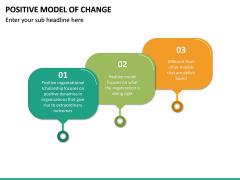 Positive Model of Change PPT Slide 18