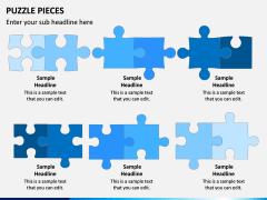 Puzzle pieces PPT slide 11