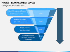 Project Management Levels PPT Slide 1