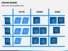 SCRUM Board PPT Slide 1