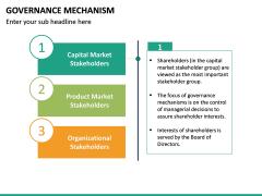 Governance Mechanism PPT Slide 16