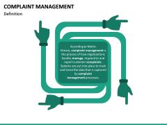 Complaint Management PPT slide 13