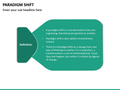Paradigm Shift PPT Slide 13