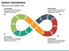 Infinity Infographics PPT Slide 19