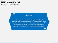 Fleet Management PPT Slide 2