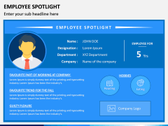 Employee Spotlight PPT Slide 1