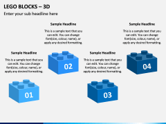 Lego blocks PPT slide 8