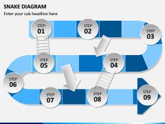 Snake Diagram PPT Slide 1