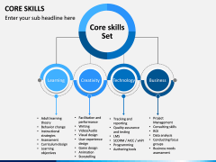 Core Skills PPT slide 4