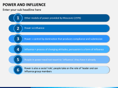 Power and Influence PPT Slide 7