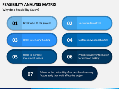 Feasibility Analysis Matrix PPT Slide 6