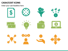 Cash Cost Icons PPT Slide 19