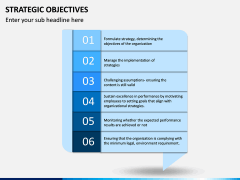 Strategic Objectives PPT Slide 5