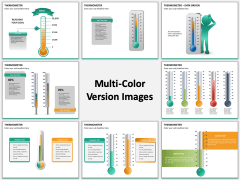 Thermometer Multicolor Combined