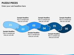 Puzzle pieces PPT slide 7