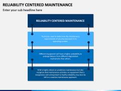Reliability Centered Maintenance PPT Slide 1