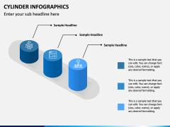 Cylinder Infographics PPT Slide 13