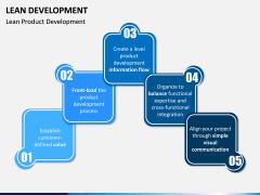 Lean Development PPT Slide 1