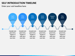 Self Introduction Timeline PPT Slide 9