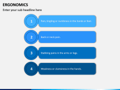 Ergonomics PPT Slide 17