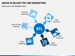 Above and Below the Line Marketing PPT Slide 8