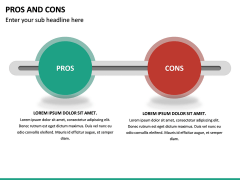 Pros and Cons PPT Slide 47