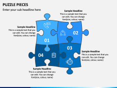 Puzzle pieces PPT slide 8