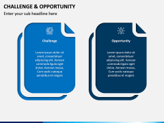 Challenge and Opportunity PPT Slide 2