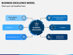 Business Excellence Model PPT slide 1