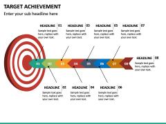 Target Achievement PPT slide 11