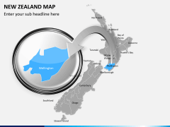 New zealand map PPT slide 12