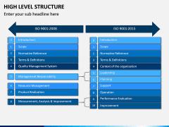 High Level Structure PPT Slide 10