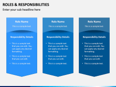 Roles and Responsibilities PPT Slide 14